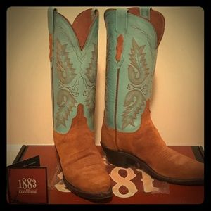 Handmade Lucchese Boots! Size 8!
